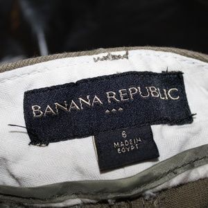 Banana Republic Shorts - Banana Republic Green Bermuda Shorts